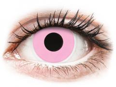ColourVUE Crazy Lens - Barbie Pink - uden styrke (2 linser)