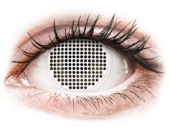 ColourVUE Crazy Lens - White Screen - uden styrke (2 linser)
