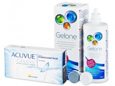 Acuvue Oasys (12 linser) + Gelone Linsevæske 360 ml