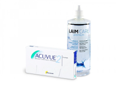 Acuvue 2 (6 linser) + Laim-Care Linsevæske 400 ml