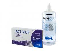 Acuvue Vita (6 linser) + Laim-Care Linsevæske 400 ml