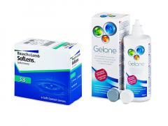SofLens 38 (6 linser) + Gelone Linsevæske 360 ml