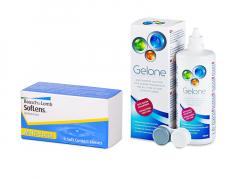 SofLens Multi-Focal (3 linser) + Gelone Linsevæske 360 ml