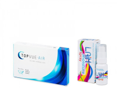 TopVue Air (6 linser) + Laim Moisture spray
