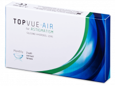 TopVue Air for Astigmatism (3linser)