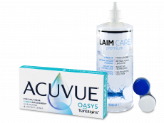 Acuvue Oasys with Transitions (6 linser) + Laim-Care linsevæske 400 ml
