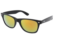 Solbriller Alensa Sport Black Orange Mirror