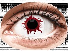 ColourVUE Crazy Lens - Wild Blood - endagslinser uden styrke (2linser)
