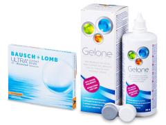 Bausch + Lomb ULTRA for Astigmatism(3 linser) + Gelone Linsevæske 360 ml