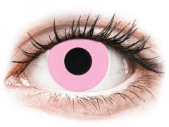 CRAZY LENS - Barbie Pink - endagslinser med styrke (2 linser)