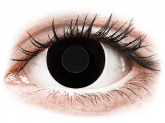 CRAZY LENS - Black Out - endagslinser med styrke (2 linser)