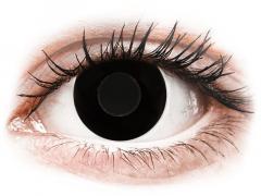 CRAZY LENS - Black Out - endagslinser uden styrke (2 linser)