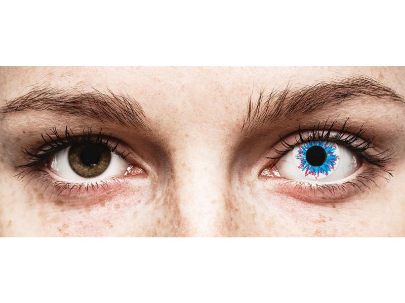 Kontaktlinse Harlequin