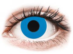 CRAZY LENS - Sky Blue - endagslinser med styrke (2 linser)