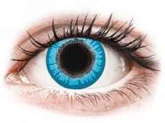 CRAZY LENS - White Walker - endagslinser med styrke (2 linser)
