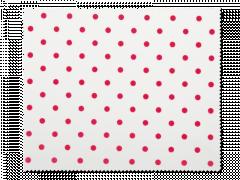 Pudseklud til briller - røde polkaprikker