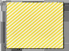 Pudseklud til briller - gule og hvide striber