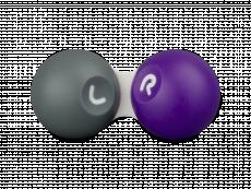 Etui til kontaktlinser - Grey & purple