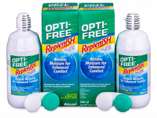 OPTI-FREE RepleniSH Linsevæske 2 x 300 ml