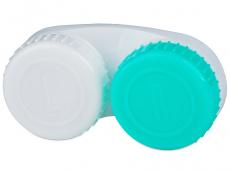 Etui med L/R mærkat - grøn og hvid