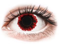 ColourVUE Crazy Lens - Blaze - uden styrke (2 linser)