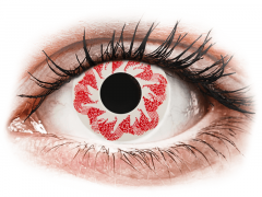 CRAZY LENS - Atom Bomb - endagslinser uden styrke (2 linser)