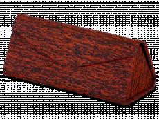 Etui til briller med røde accenter - Brindle