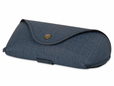 Blå etui til briller  SH224-1