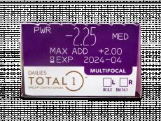 Dailies TOTAL1 Multifocal (30 linser)