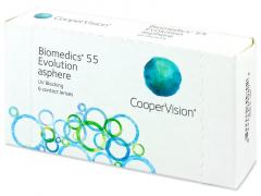 Biomedics 55 Evolution (6linser)