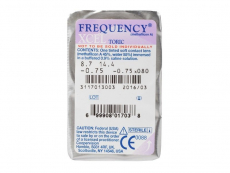 FREQUENCY XCEL TORIC (3 linser)