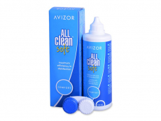 Avizor All Clean Soft linsevæske 350 ml