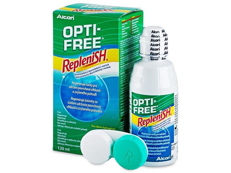 OPTI-FREE RepleniSH Linsevæske 120ml
