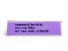 FREQUENCY XCEL TORIC XR (3linser)