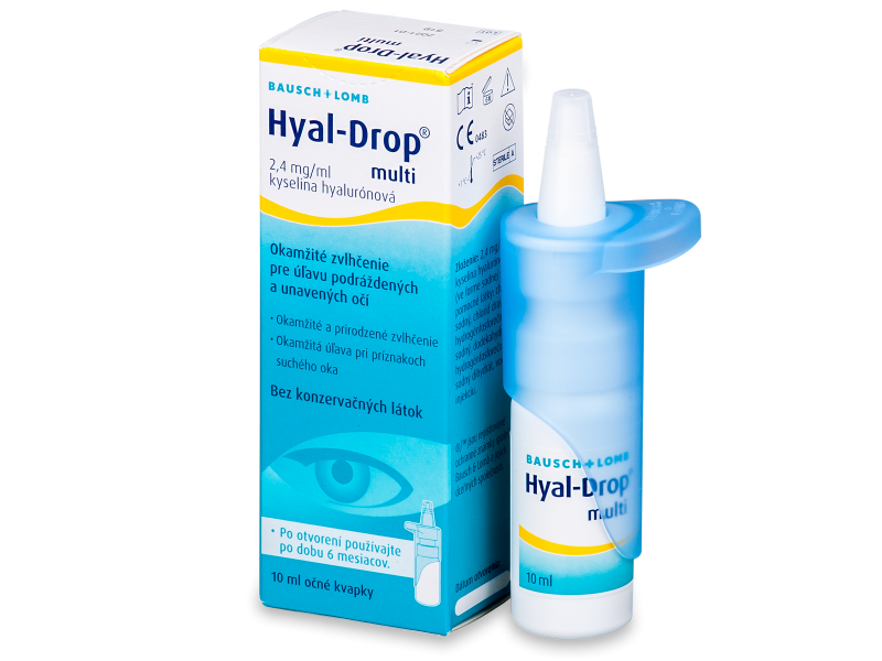 Hyal-Drop Multi Øjendråber 10ml