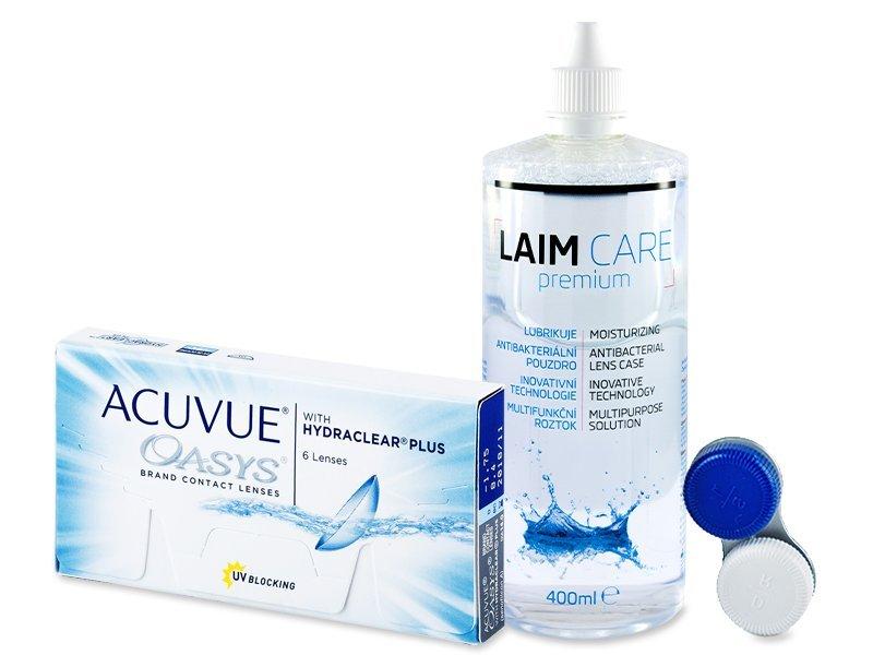 Acuvue Oasys (6linser) +Laim-CareLinsevæske 400ml