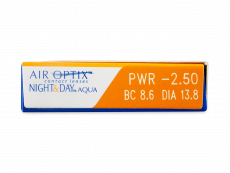 Air Optix Night and Day Aqua (3linser)
